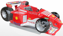 Formula F1 Race Car Kiddy Ride