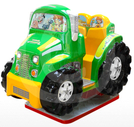 Farm Tractor Interactive Video Kiddie Ride - Falgas