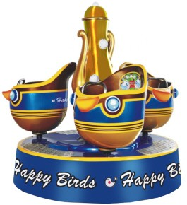 Happy Birds Merry Go Round Kiddie Ride