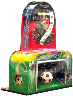 Kicker Soccer Ball Kicking Arcade Game - Falgas