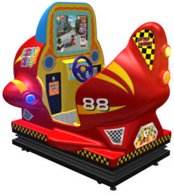Kiddy Dido Air Interactive Motion Kiddie Ride From Injoy Motion Corp