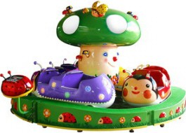 Lady Bug Paradise - Merry Go Round Kiddie Ride
