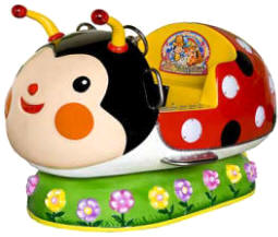 Lady Bug Kiddie Animal Ride