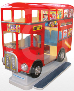 London Bus Kiddy Ride - Falgas