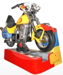 Moto Custom Kiddie Ride - 32453  - Falgas Amusement Rides