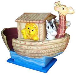 Noah's Ark Kiddie Boat Ride WKR148 From Zamperla Asia Pacific / ZAP Kiddy Ride