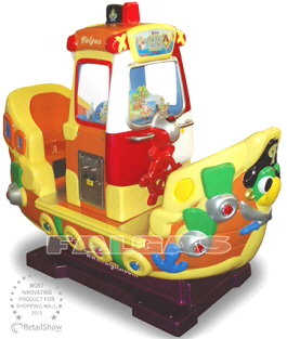 Pirates Boat Kiddie Ride - 33084  |  Falgas