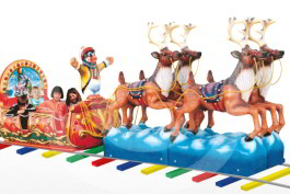 Polar Train Kiddie Amusement Ride - Falgas