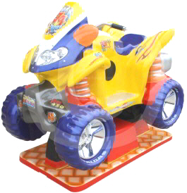 Moto Quad Xtreme / Quad Monster Xtreme 4x4 Kiddy Ride - Falgas
