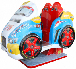 Racing Car Challenge Kiddie Ride - Falgas
