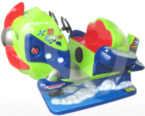 Sky Challenge Airplane Kiddie Ride - 34715  | Falgas