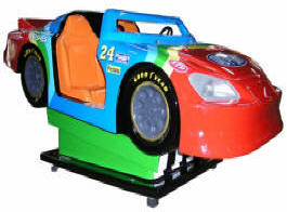 Zap Speedway Race Car Kiddie Racing Auto Ride WKR163 From Zamperla Asia Pacific / ZAP Kiddy Ride