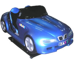 Zap 3 BMW Sports Car Kiddie Automobile Ride WKR144 From Zamperla Asia Pacific / ZAP Kiddy Ride