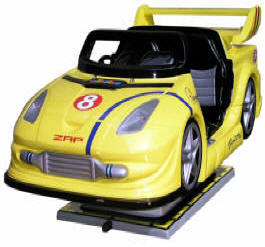 Zap Rally Sports Car Kiddie Automobile Ride WKR148 From Zamperla Asia Pacific / ZAP Kiddy Ride