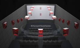 4D Theatron Motion Simulator Theater Attraction - Sound System | Simuline