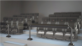 4D Theatron Motion Simulator Theater Attraction - Seating | Simuline