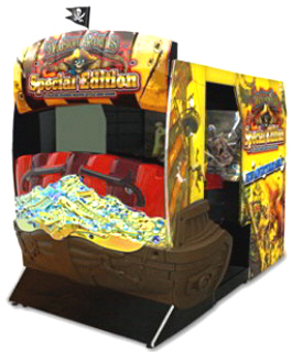 DeadStorm Pirates Special Edition SDX Video Arcade Game From Namco