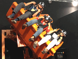 Hurricane 360 VR Virtual Reality Motion Simulator Ride From DOF Robotik