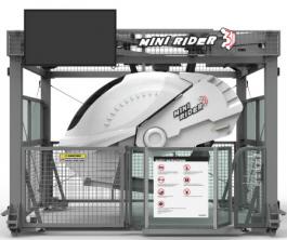 Mini Rider3D Motion Simulator Attraction Ride   2015 Model