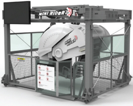 Mini Rider 3D Motion Simulator Ride From Simuline