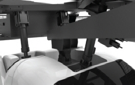 Mini Rider 3D - 4D Motion Simulator Attraction Ride Motion Base 2