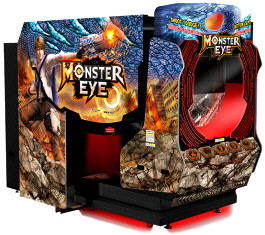 Monster Eye 5D Theater Arcade Shooting Game | Wahlap IGS