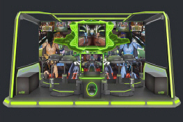 Omni Arena VR Arcade Gaming System - 5 Player Model From UNIS