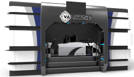 VALKYRIE 4D Motion Simulator Attraction Ride - Enclosure | Simuline