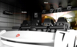 VALKYRIE 4D Motion Simulator Attraction Ride - Interior View | Simuline