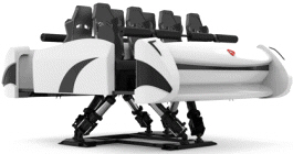 VALKYRIE 4D Motion Simulator Attraction Ride - Motion Platform | Simuline