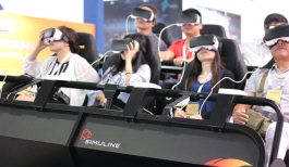 VR X-Rider VR Motion Simulator Ride - Live Pic - From Simuline