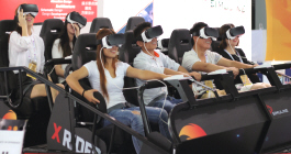 VR X-Rider Motion Simulator VR Ride - Live Pic - From Simuline