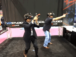 VRCADE VIRTUAL REALITY GAMING SYSTEMS BY UNIS, CJ4DPLEX AND VRSTUDIOS