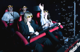X-Rider 4D Motion Theater Ride Attraction - Rider View | Simuline