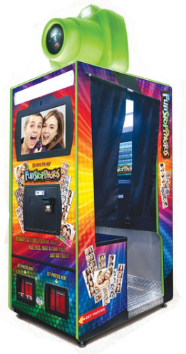 Fun Stop Photos Gen 2 Color Digital Photo Booth From Team Play, Inc