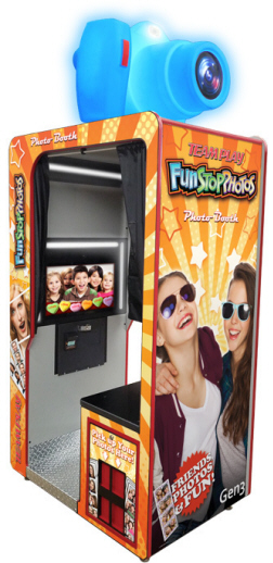 Fun Stop Photos Gen 3 Color Digital Photo Booth From Team Play, Inc