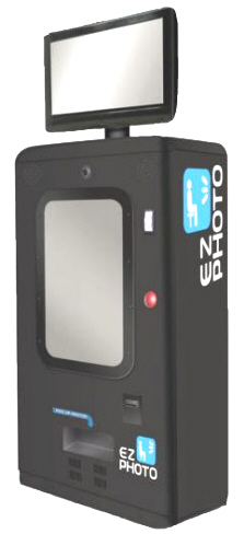 EZ Photo Compact Kiosk-Style Photo Booth Machine From Apple Industries