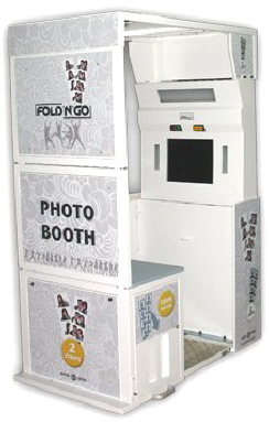 Fold N' Go Portable Collapsible Event Rental Photo Booth