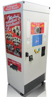 Hollywood Photo Booth Compact |  Portable Compact Wedding / Event Rental Touschcreen Photobooth - From Smart Industries