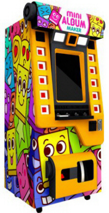 Mini Album Upright Color Digital Social Media Photobooth