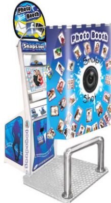 SnapShot Deluxe Portable Event Rental Photobooth from LAI Games