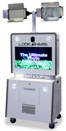 Superbooth Event Model Photobooth  / Glamour Model Photo Shoot Machine