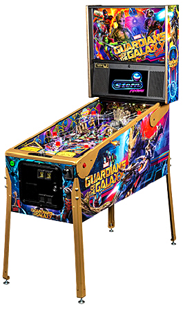 Guardians Of The Galaxy Limited Edition Pinball Machine From Stern