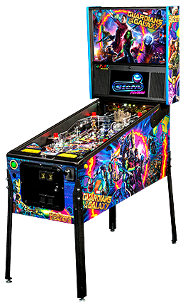 Guardians Of The Galaxy Professional Pinball Machine From Stern