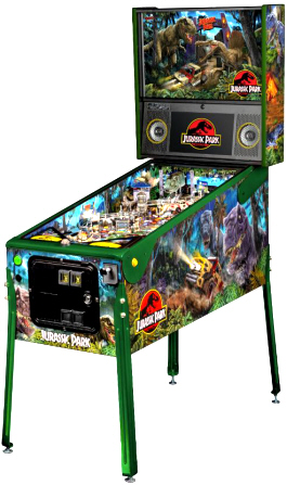 Jurassic Park Limited Edition Pinball Machine From Stern