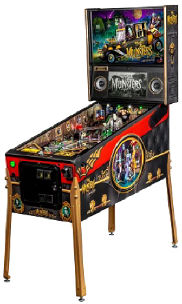 The Munsters Limited Edition Pinball Machine From Stern