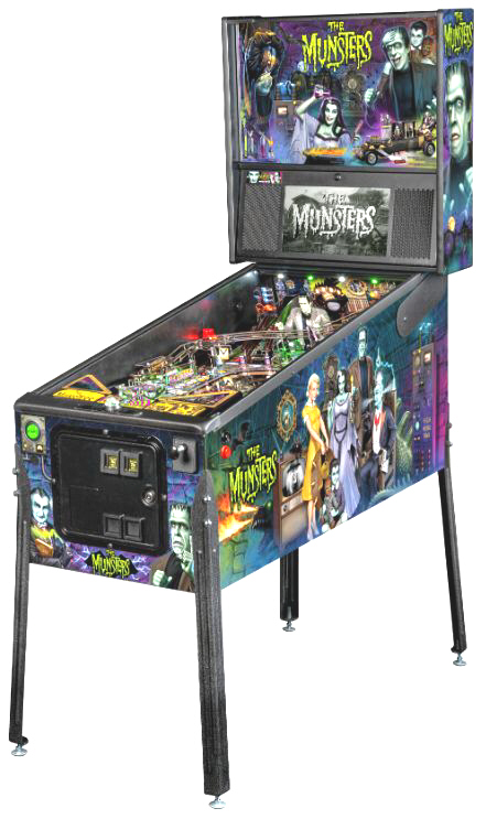 The Munsters Premium Color Edition Pinball Machine From Stern