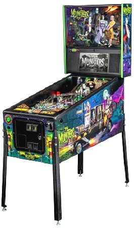 The Munsters Professional Pinball Machine From Stern