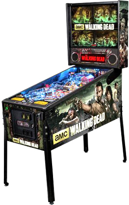 The Walking Dead Premium Model Pinball Machine From Stern