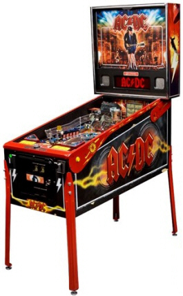 AC/DC Pinball Machine - Let Their Be Rock Limited Edition / LE Model From Stern Pinball